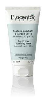 masque purifiant argile verte placentor v g tal masque purifiant a l 39 argile verte. Black Bedroom Furniture Sets. Home Design Ideas